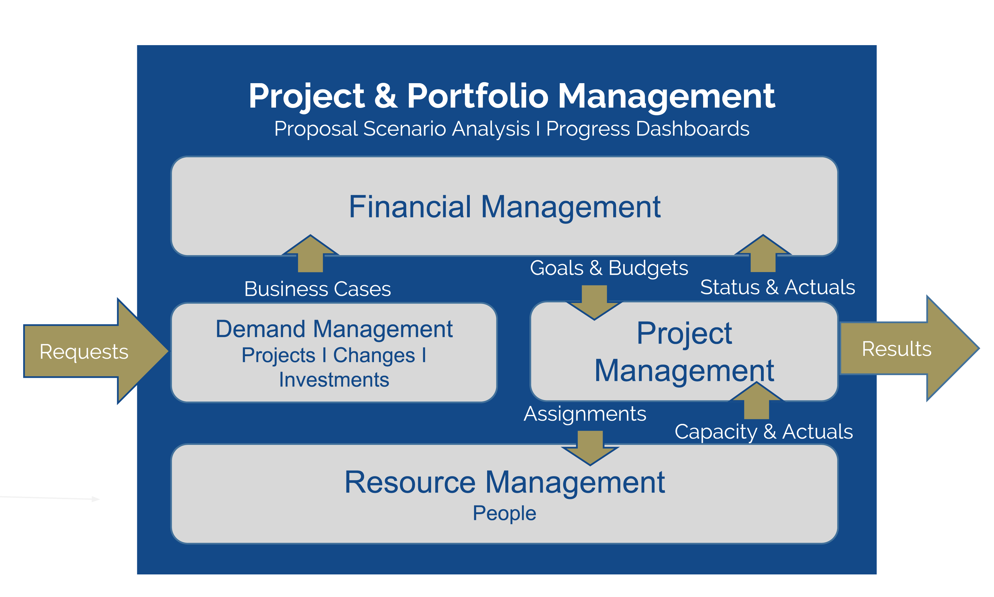 Project Portfolio Management Graphic
